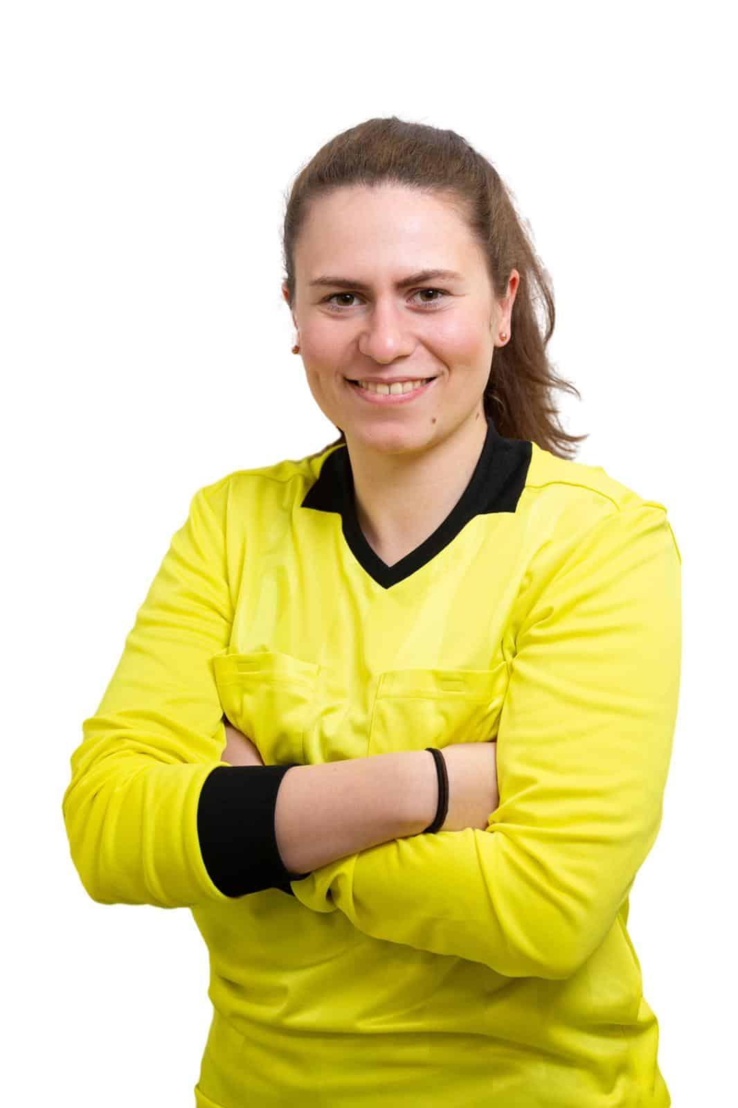 Portrait Raphaela im Schiridress