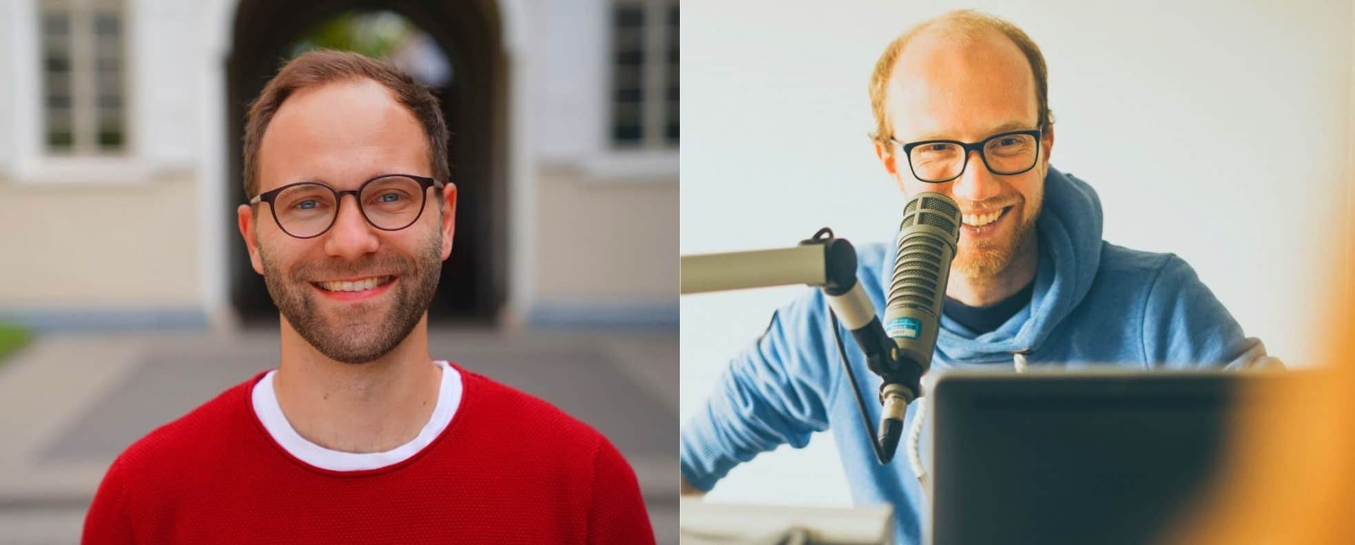 Die beiden Podcast Gründer