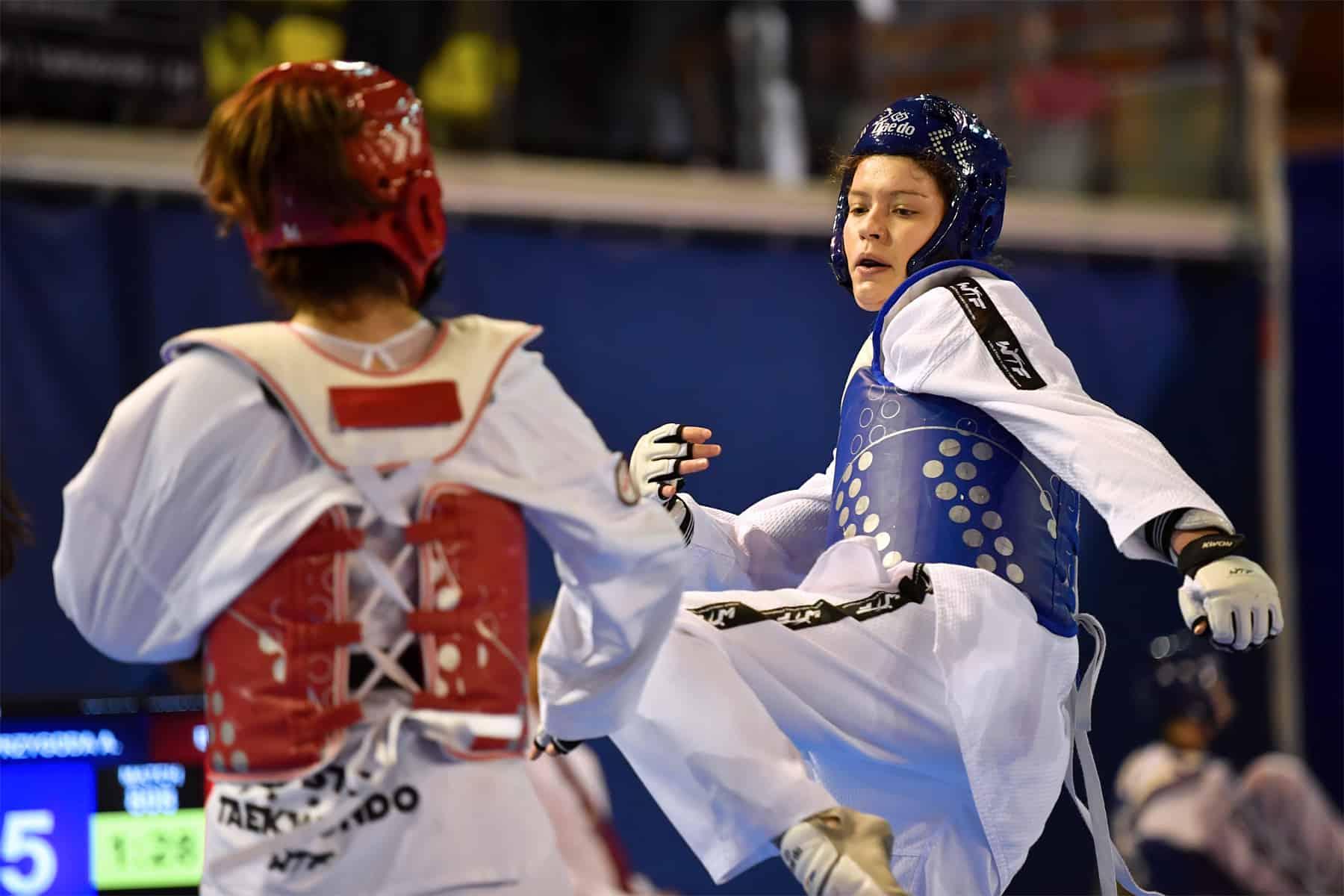 Alina bei einem Kampf