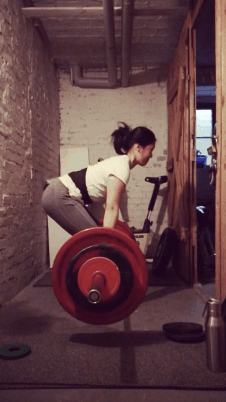 Thao beim Gewichtheben